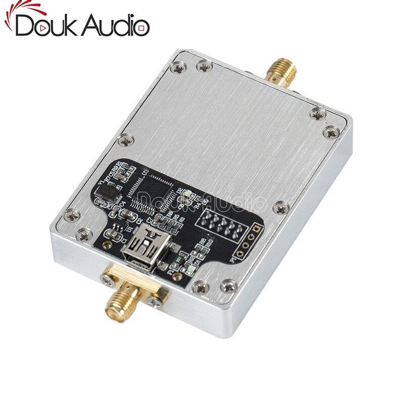 ADF4351 RF Source générateur PLL Module de boucle à verrouillage de Phase + STM32 SCM contrôle + boîte