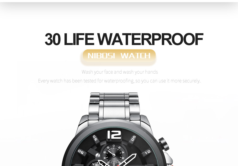 Relogio Masculino NIBOSI Watch Men Waterproof Luxury Brand 2018 Men Watches Stainless Steel Chronograph Wrist Watch Montre Homme (14)