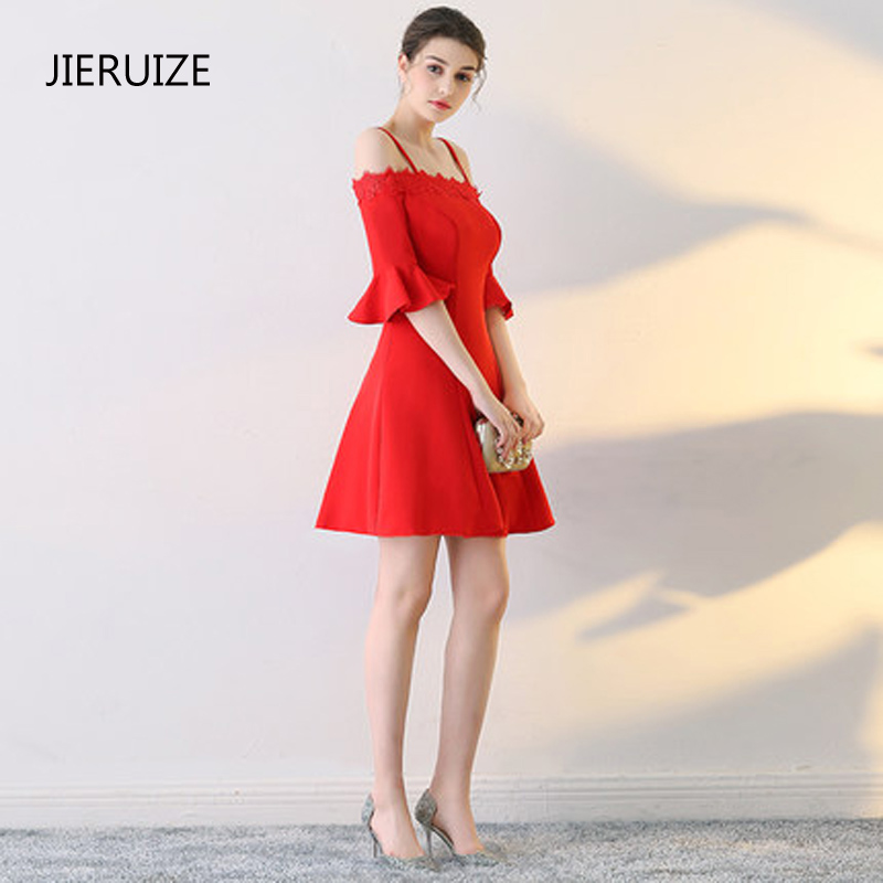 Online Buy Wholesale red prom dresses short from China red prom ...