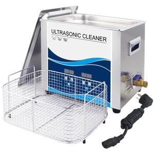 Image 5 - ดิจิตอล Sonicator Bath 10 ลิตร 240 W/360 W เครื่องดูดฝุ่นอัลตราโซนิก 220V 40khz น้ำมัน Mechanical อะไหล่เครื่องซักผ้า lab อิเล็กทรอนิกส์ Board ทำเล็บมือ