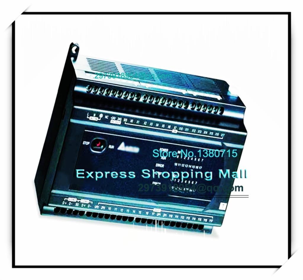 New Original DVP32ES211T Delta PLC ES2 series 24VDC 16DI 16DO Transistor output dvp32es00t2 delta plc 100 240vac 16di 16do transistor output new original