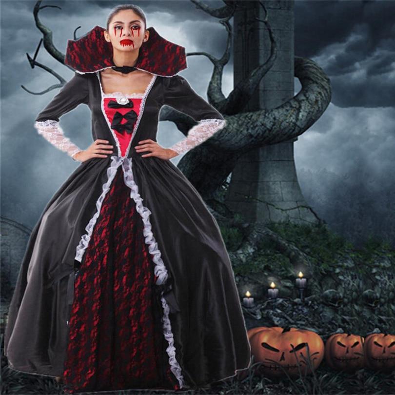 2015 Vampire Costume Women Adult Masquerade Ball Gown Halloween ...