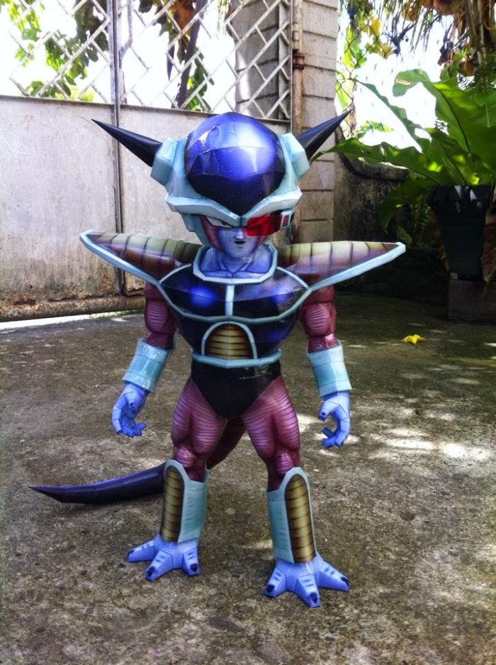 Dragon Ball Frank Second Form 3D Paper Model DIY