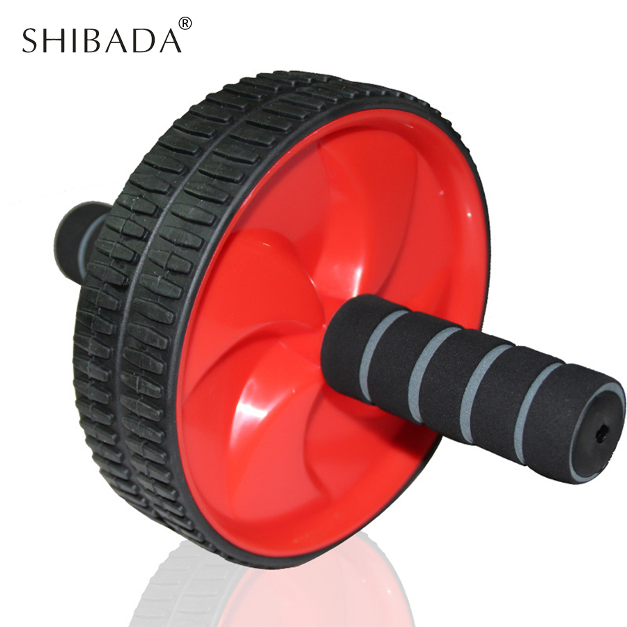 SHIBADA Fitness Roller Pulley Exercises To Exercise Abdominal No Noise Abdominal Wheel Ab Roller Fitness Equipment