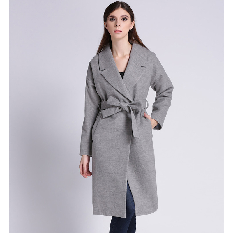 Popular Grey Wool Coats-Buy Cheap Grey Wool Coats lots from China ...