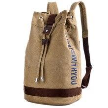 Neutral alphabet tasche mit eimer umhängetasche mode reise männliche rucksack