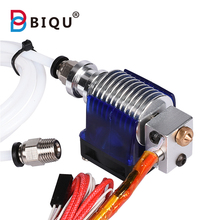 3D V6 J-head Hotend Bowden Extruder Full Kit with 12V fan heater PTFE Tubing themistor 1.75mm 3mm for RepRap 3d printer part цена в Москве и Питере