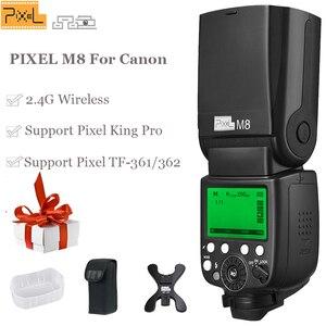 Image 3 - INSEESI IN 560IV IN560IV PLUS & PIXEL M8 LCD Zaklamp Wireless Flash Speedlite & TF 361 Wireless Flash Trigger voor Canon Camera