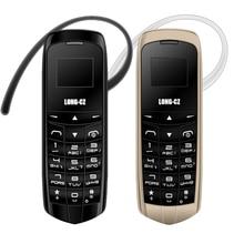 LONG-CZ J8 Magic voice bluetooth dialer cellphone FM mini cell bluetooth 3.0 earphone smallest cell phone mobile phone P040