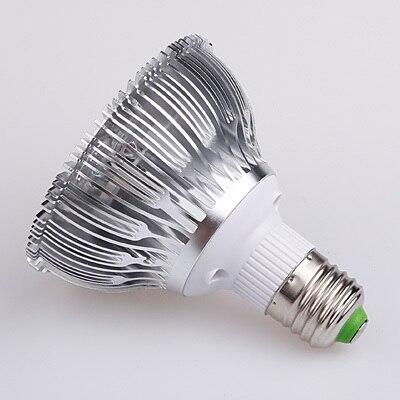 5pcs 9W Par30 E27 LED Bulb Lamp Light White/Warm White Spotlight For Home Free Shipping 5pcs e27 led bulb 2w 4w 6w vintage cold white warm white edison lamp g45 led filament decorative bulb ac 220v 240v