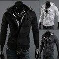 Бесплатная Доставка 2016 Осень и Зима Моды Случайные Тонкий Кардиган Assassin Creed Толстовки Толстовка Верхняя Одежда Куртки Men Brand