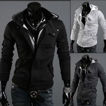 Freies Verschiffen 2016 Herbst & Winter Mode Beiläufige Dünne Strickjacke Assassine Credo Hoodies Sweatshirt Oberbekleidung Jacken Männer bmy121