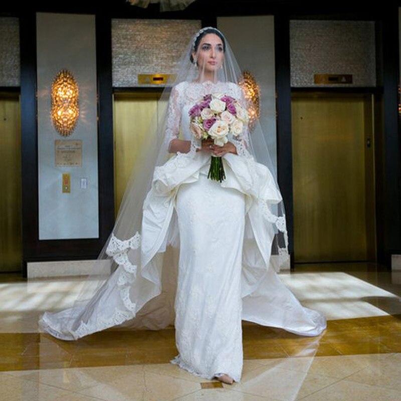 Top Wedding Dress Peplum Ideas With