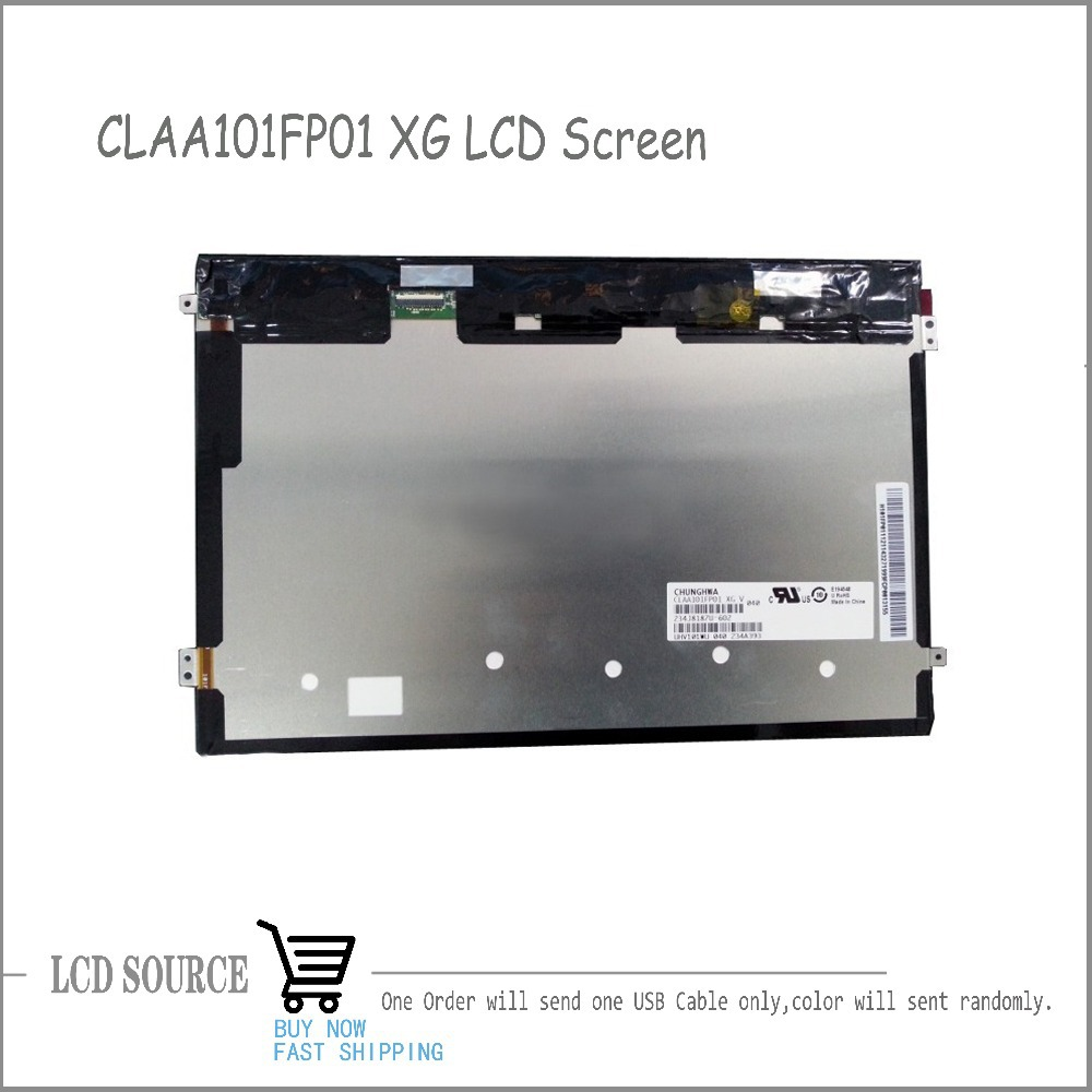 10 1 TFT CLAA101FP01 XG LCD SCREEN Display For Cube U30GT2 Inner Screen 1920 RGB 1200