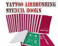 3 Books Golden Phoenix Tattoo Stencils For Temporary Airbrush Tattoo Makeup Free Shipping-Spray Body Paint