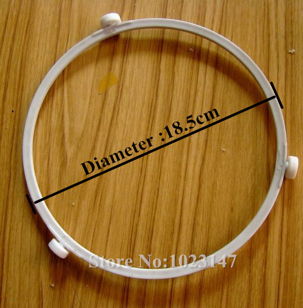 Microwave Oven Diameter 18 5cm Plastic Round Shaped Rotating Tray Support Galanz Parts For Gl Plate
