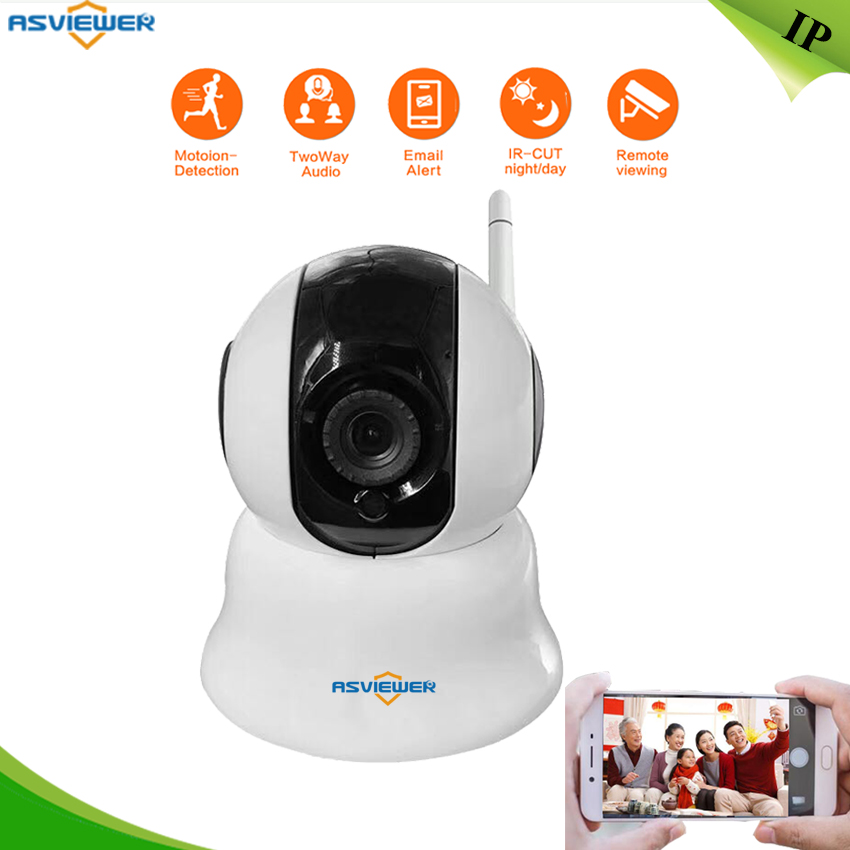 Wireless IP Camera Support P2P and Alarm, Pan Title turn Two Way Audio TF card memory storage Security WIFI Camera AS-IP602WTWireless IP Camera Support P2P and Alarm, Pan Title turn Two Way Audio TF card memory storage Security WIFI Camera AS-IP602WT