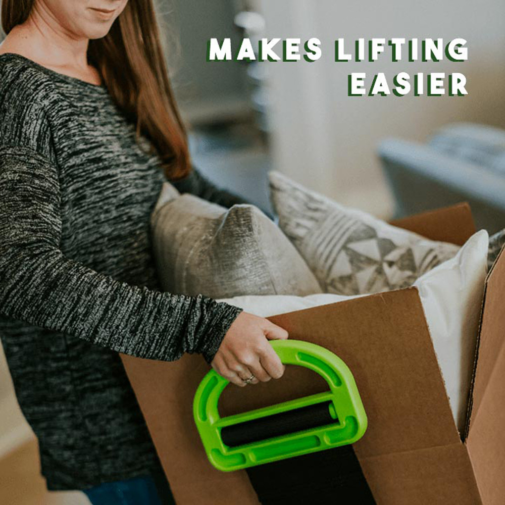 The Adjustable Moving And Lifting Straps For Furniture Boxes Mattress Green Straps Team Straps Mover Easier Conveying #BL3