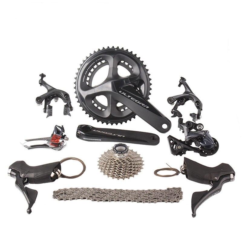 Shimano Ultegra R8000 Bici Da Strada Groupset 2x11 22 s Velocità 50/34 53/39 170mm 172.5mm Della Bicicletta Della Strada gruppo Deragliatore Kit