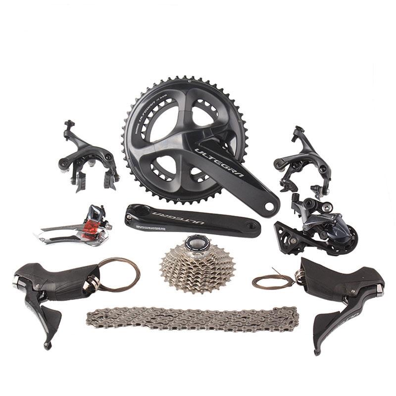 Shimano Ultegra R8000 Road Bike Groupset 2x11 22S Speed 50/34 53/39 170mm 172.5mm Road Bicycle Groupset Derailleur Kit цены