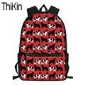 THIKIN Детская сумка для школы Newfoundland с принтом собаки  школьные сумки  Детский рюкзак на плечо  Подростковые Сумки для ноутбука  сумка для книг...