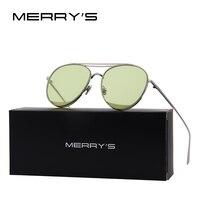 MERRY'S 2017 New Arrival Women Classic Brand Designer Rimless Sunglasses Twin Beam Metal Frame Sun Glasses S'8095 Women's Glasses