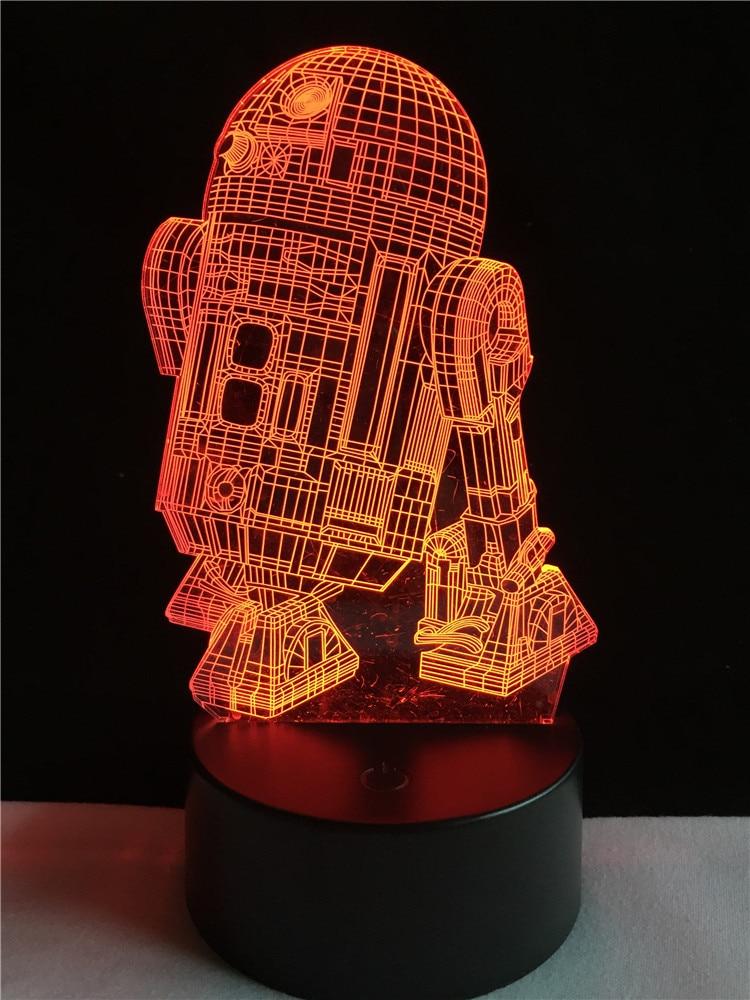 Luzes da Noite noite decoração de casa lâmpada Formato : Warship