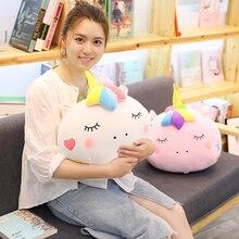Купить с кэшбэком Cushion Blanket Unicorn Cartoon Office Home Decoration Bedroom Room Decor Pillow Seat Cushion For Bench Kawaii Soft Unicorn Cute