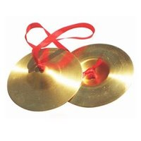 music instruments copper cymbals child musical instrument toy 9cm