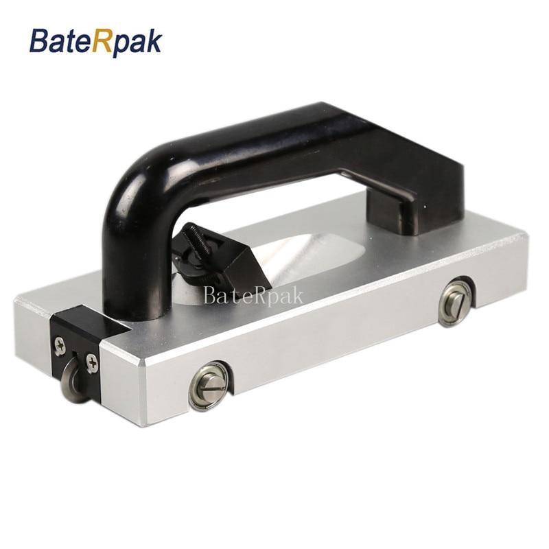BateRpak PVC plastic sports floor construction tools guide wheel slotted manually slotted knife,vinyl floor grooving machine