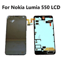 LCD Display+Touch Screen Digitizer Assembly with frame +Tools for For Nokia Lumia 550 LCD Screen