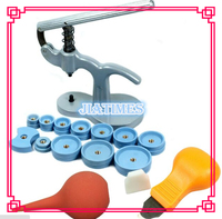 Snap on Assista Volta Caso Opener Tool kit de Montagem-Prima + Abridor de Faca + Blower Ferramenta de Reparo do Relógio Set