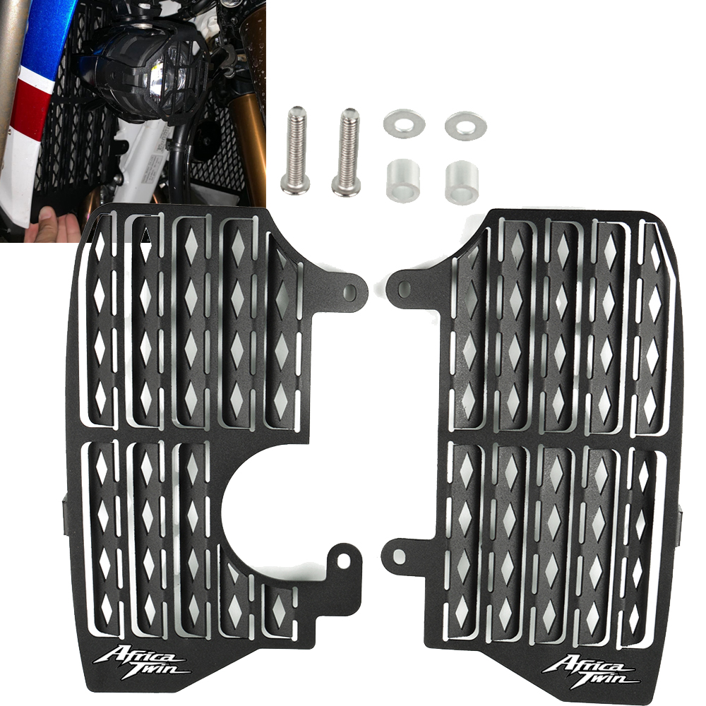 Radiator Guards for HONDA 2016 2017 2018 2019 CRF1000L CRF 1000L Africa Twin Adventure ADV Radiator