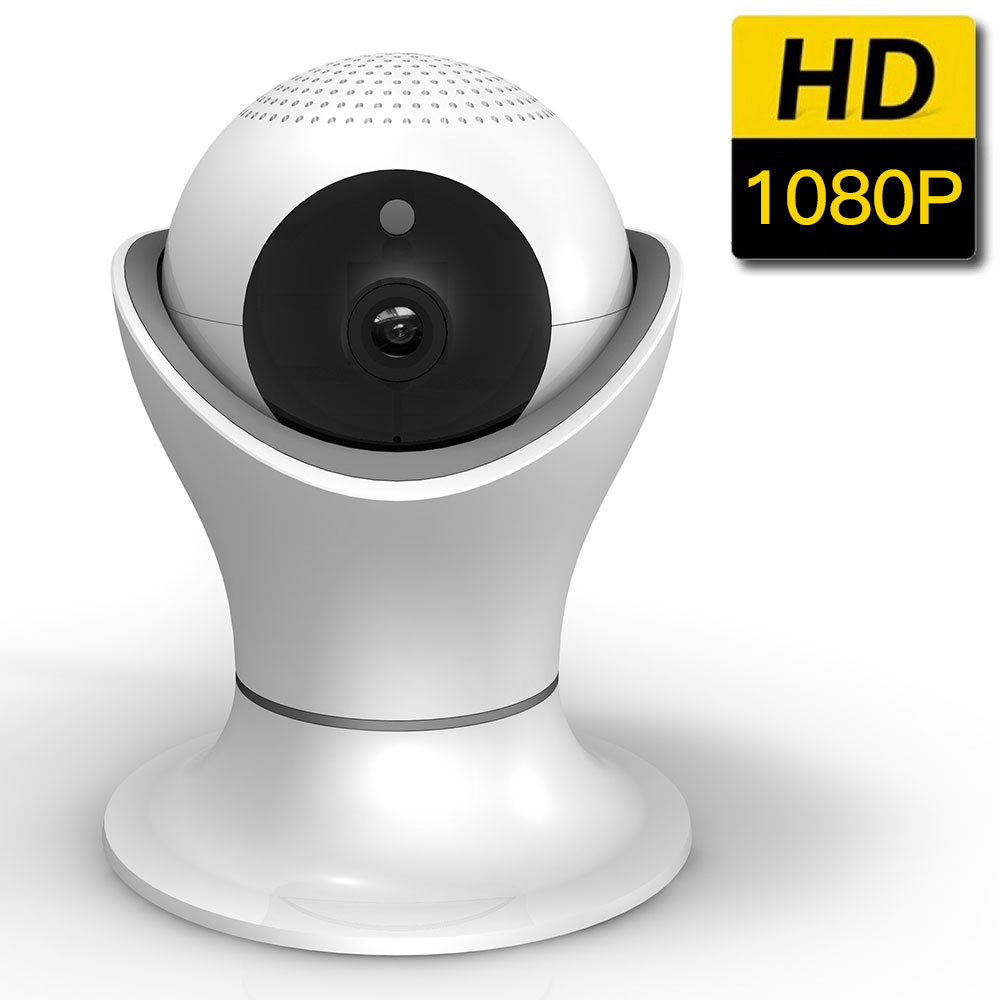 SDETER 1080P Home Security CCTV Camera WIFI Wireless Surveillance IP Camera IR-Cut Night ...