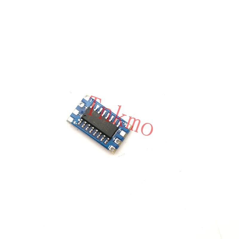 1pcs Serial Port MCU Mini RS232 to TTL Converter Adaptor Board Module MAX3232 3-5V For Arduino free shipping 1pcs lot smallest sim800l gprs gsm module micro sim card core board quad band ttl serial port