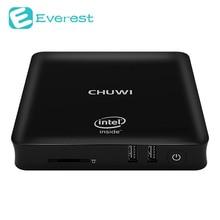 Оригинальный Chuwi мини-ПК Intel Z8350 4 ядра TV Box 4 ГБ Оперативная память 64 ГБ Встроенная память Android 5.1 Window10 Bluetooth4.0 HDMI WI-FI Android TV