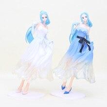 Anime One Piece Action Figure Nefeltari Vivi Lady Edge Wedding Dress Ver  Model princess Collectible toy 511df42e4d39