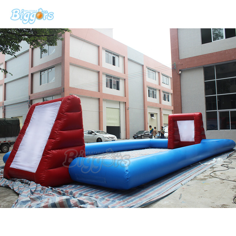 Hot Selling Inflatable Football Pitch Inflatable Soccer Court Inflatable Soccer Field oklick 235m
