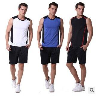 cc1974dfcfd2 New Road Iraqi Vatican Workout clothes Men s Fitness vest fitness  sportswear summer models shorts suit
