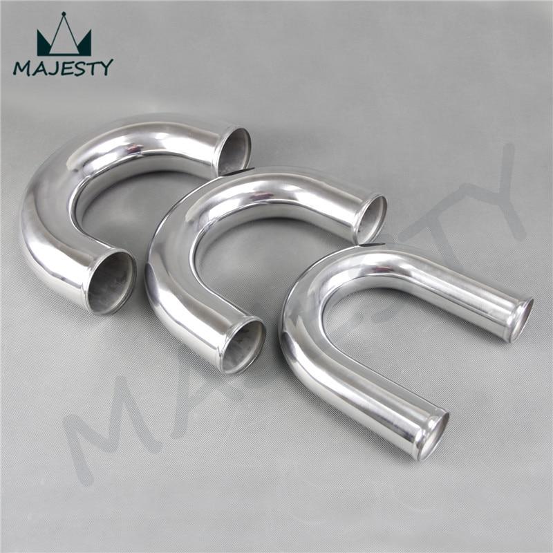 51 мм 2 2,0 дюйма 180 градусов Алюминиевый турбо интеркулер труба трубопровод локоть 180 градусов OD: 51 мм 2 2,0 дюйма Длина 300 мм
