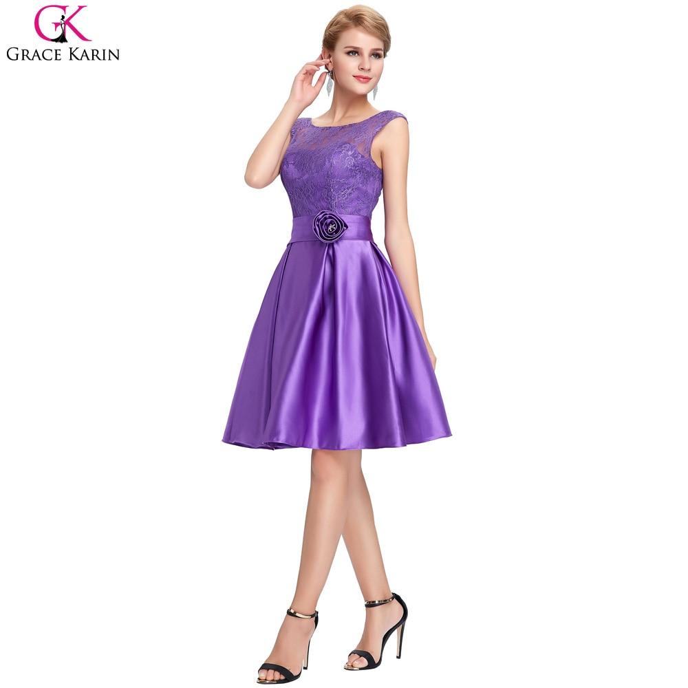 Grace karin kurze abendkleider 2017 spitze mutter der braut Kleid ...