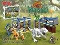 77013 Jurassic World Velociraptor Building Blocks Jurrassic Park 4 Dinosaur Brick Toys jurassic world sets compatible With