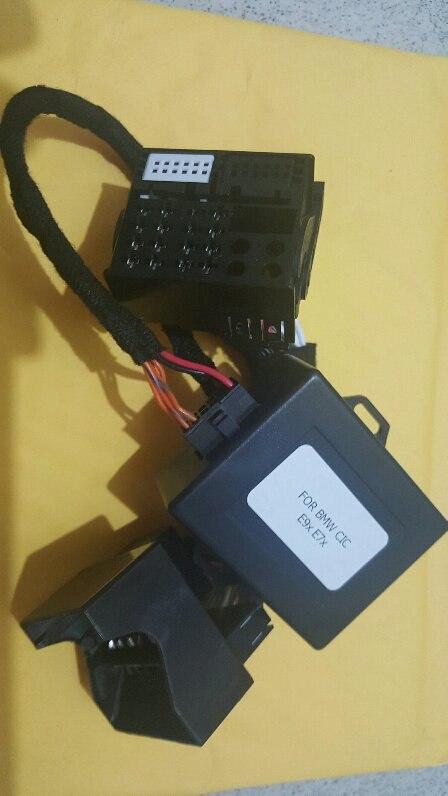 Pour INTERFACE TV gratuit BMW CIC vidéo en mouvement CIC E60 E61 E70 E71 E84 E90 E91 E92 E93 Activation de la fonction de navigation