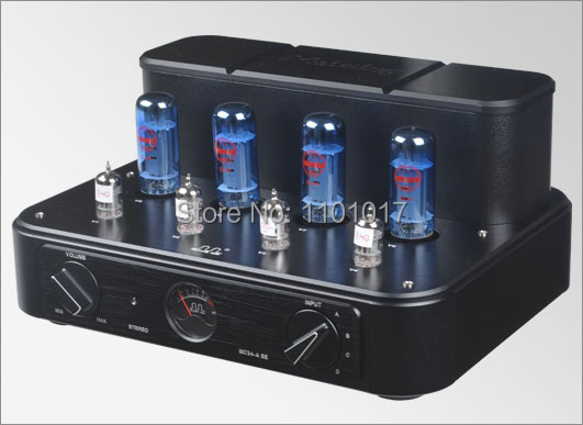 MeiXing MingDa MC34-A SE version push-pull tube amplifier HIFI EXQUIS EL34 integrated powerful lamp amp meixing mingda mc368 b kt88 push pull tube amplifier hifi exquis high power 50wx2 integrated lamp 6n8p 6sn7 amp