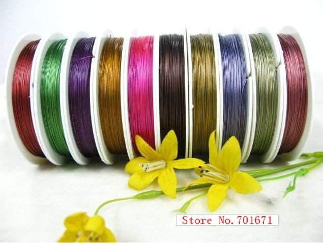Hot Sale! Mix Color Beading Wire, Nyllon Coated Stainless Steel Wire ...