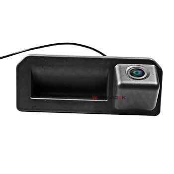 Câmera traseira do carro ccd para 2018 audi q2 q2l q5l a5 skoda karoq kodiaq caiena polo sedan tronco lidar com câmera estacionamento reverso hd