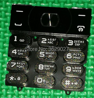 SZWESTTOP Original Russian Keypads For Philips E560 Cellphone Ker Button For Xenium CTE560 Mobile Phone Russian