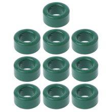 10 шт. силовой трансформатор Ферритовое кольцо индуктор катушка зеленый Железный тороид ферритовый сердечник