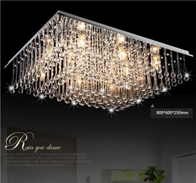 Buy free shipping modern led crystal for Lustre moderne design contemporain