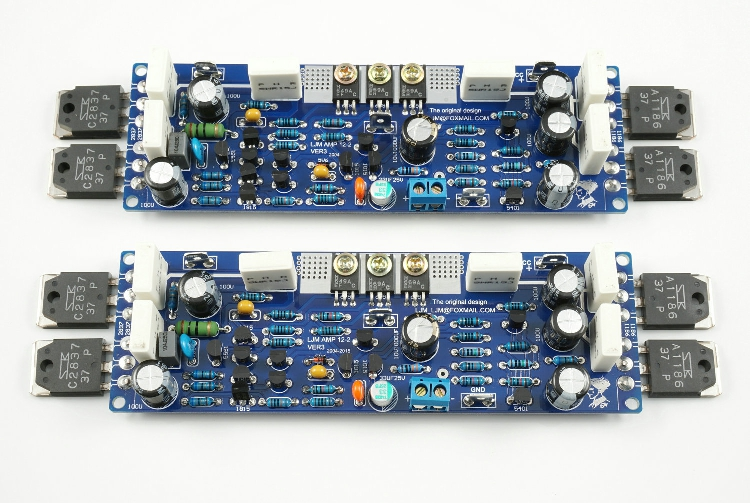 NEW LJM DIY Stereo L12-2 Audio Two Channel Power Amplifier Kit stereo audio amplifier 2 x 40w